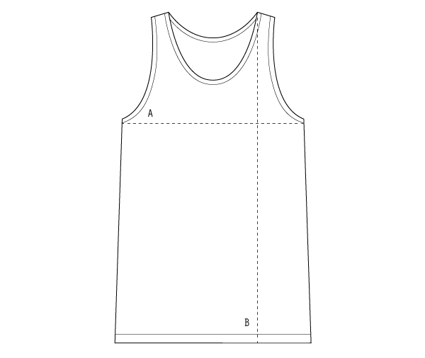 Monstore Sleeveless Tee