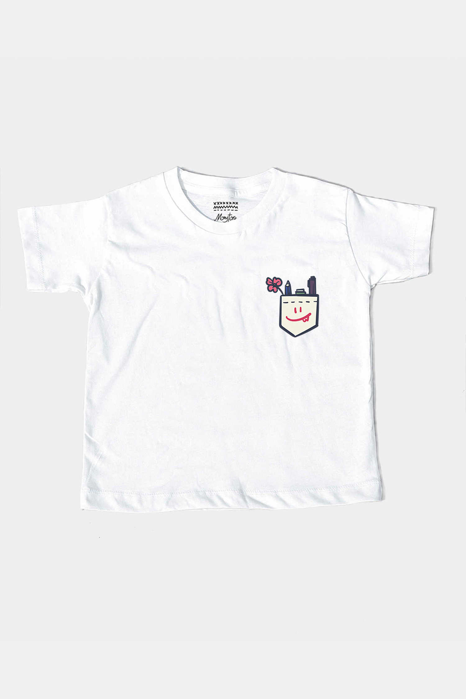 23a2ae00714d Product - Tees - School Pocket Kids Tee Off White