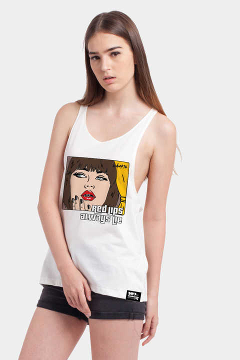 dwp-red-lips-racer-back-tank